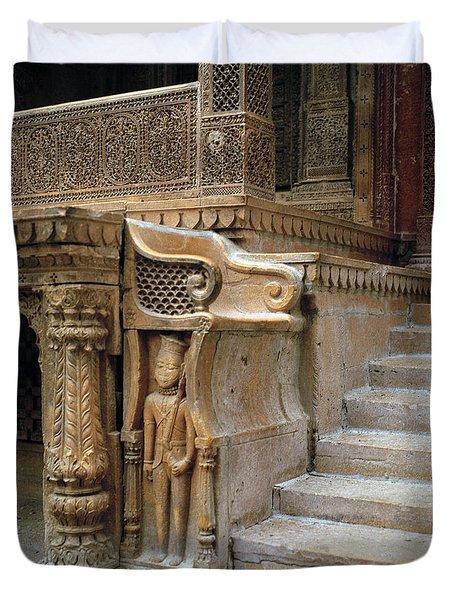 Ancient Rajasthan Duvet Cover by Shaun Higson