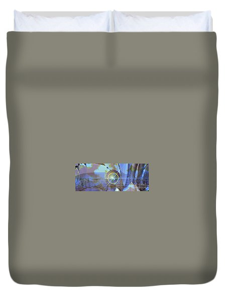 Angel Of The Water Duvet Cover by Luke Galutia