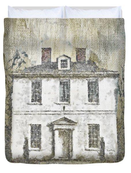 Animal House Duvet Cover by Trish Tritz