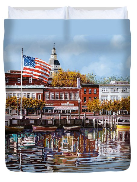 Annapolis Duvet Cover by Guido Borelli
