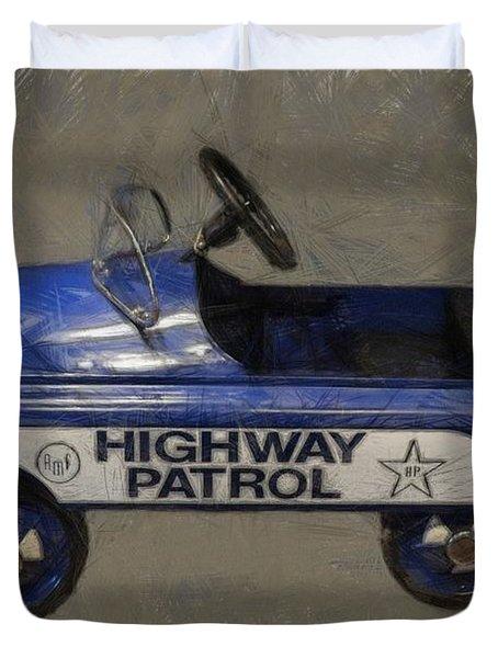 Antique Pedal Car V Duvet Cover by Michelle Calkins