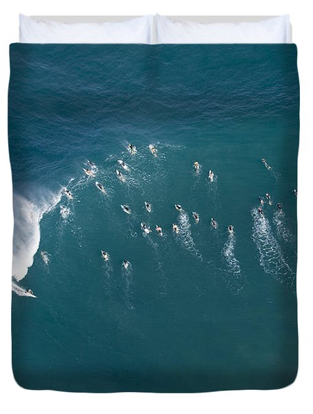 Ants Nest Duvet Cover by Sean Davey