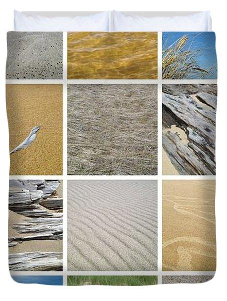 April Beach Duvet Cover by Michelle Calkins