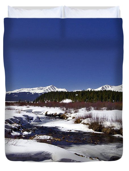 April Thaw Duvet Cover by Jeremy Rhoades