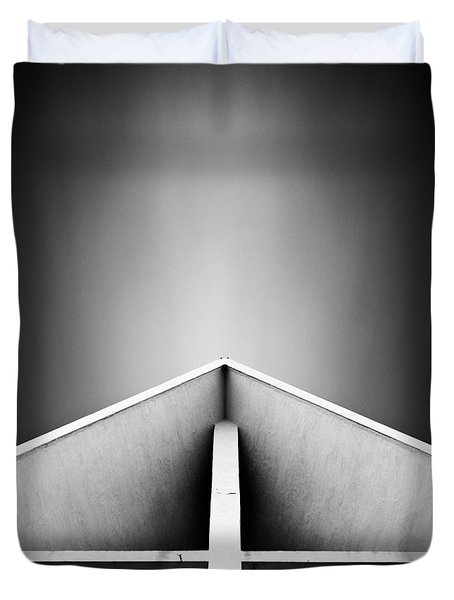 Arctic Cathedral Duvet Cover by Dave Bowman