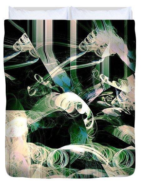 Ardua Duvet Cover by Anastasiya Malakhova