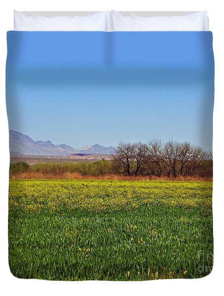 Arizona Spring Duvet Cover by Methune Hively