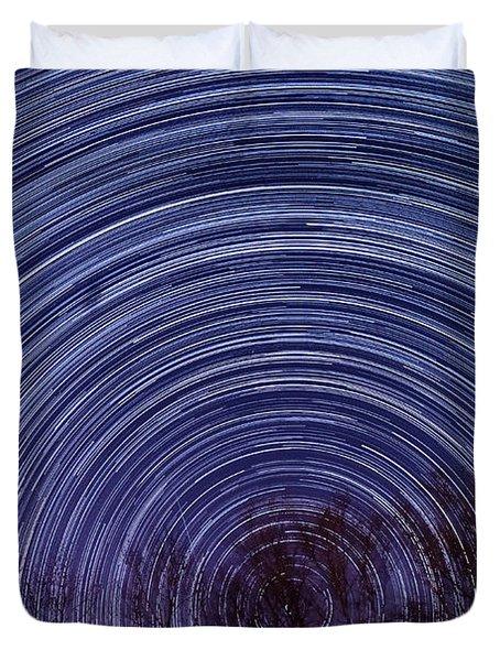 Arnold Startrails Duvet Cover by Benjamin Reed
