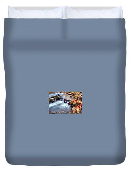 Art for Crohn's HDR Fall Creek Duvet Cover by Tim Buisman