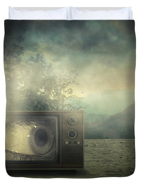 As Seen On Tv Duvet Cover by Taylan Soyturk