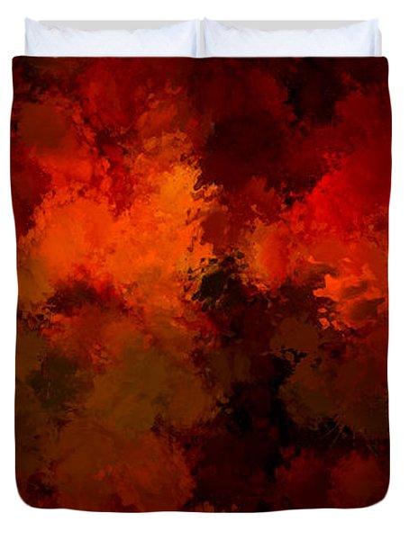 As The Seasons Turn Duvet Cover by Lourry Legarde