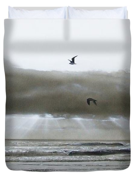'ascension II' Duvet Cover by Christian Chapman Art