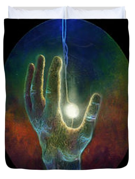 Ascension Of The Soul Duvet Cover by Kd Neeley