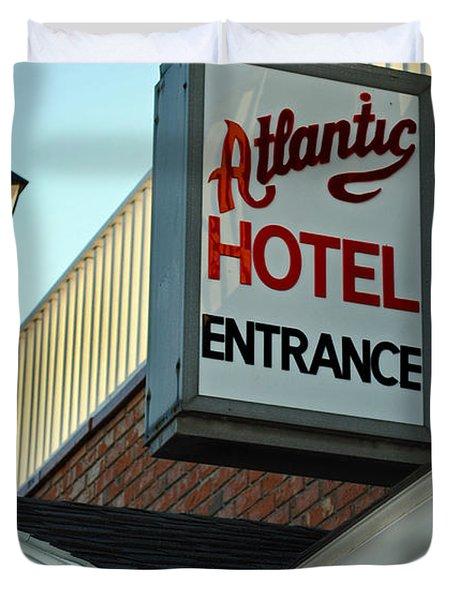 ATLANTIC HOTEL Duvet Cover by Skip Willits