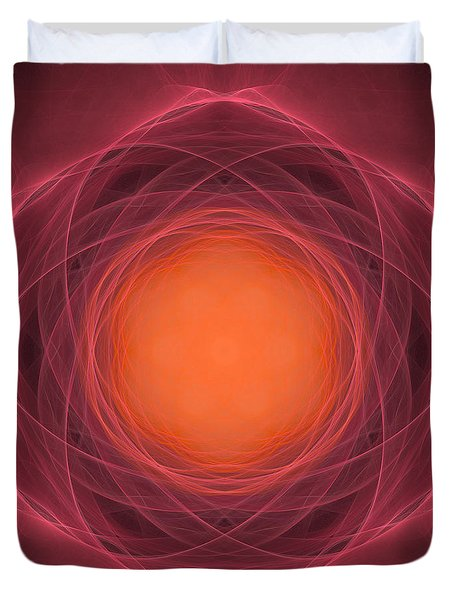 Atome-13 Duvet Cover by RochVanh