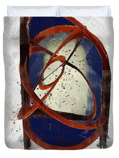 Atomic Truth Duvet Cover by RC deWinter