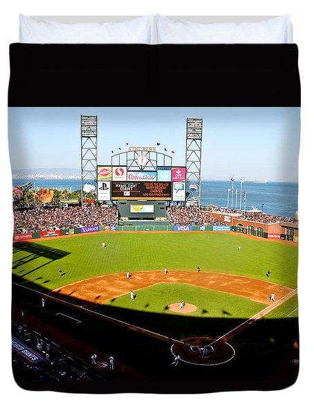 Att Park San Francisco  Duvet Cover by John McGraw