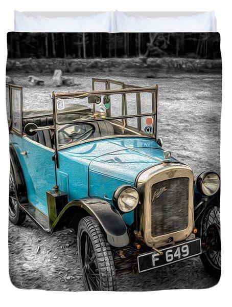 Austin 7 Duvet Cover by Adrian Evans