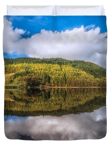 Autumn Clouds Duvet Cover by Adrian Evans