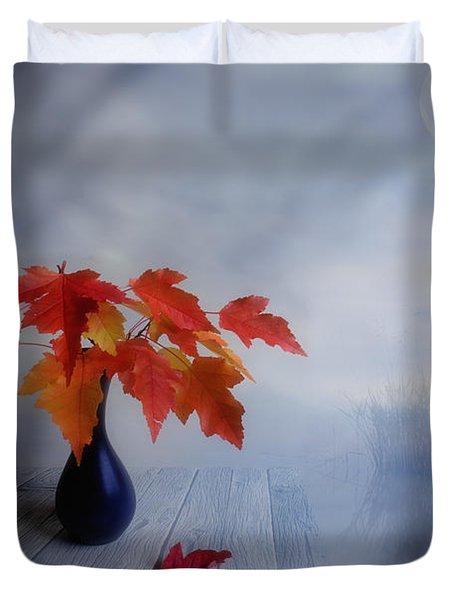 Autumn colors Duvet Cover by Veikko Suikkanen