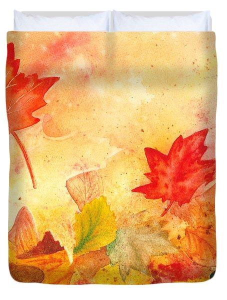 Autumn Dance Duvet Cover by Irina Sztukowski