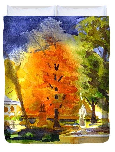 Autumn Gold 2 Duvet Cover by Kip DeVore