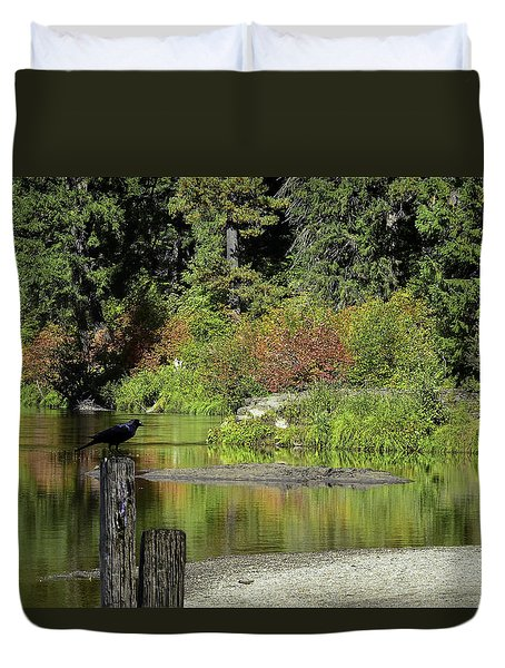 Autumn Melody Duvet Cover by Diane Schuster