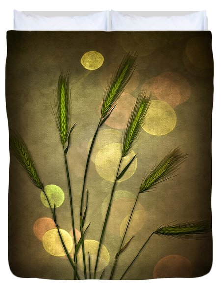 Autumn Party Duvet Cover by Jan Bickerton