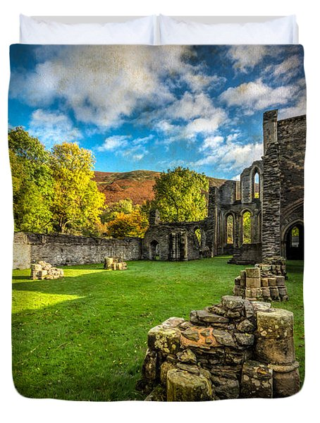 Autumn Ruins Duvet Cover by Adrian Evans