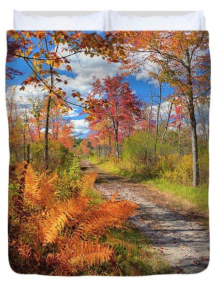 Autumn Splendor Duvet Cover by Bill  Wakeley