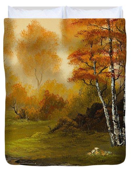 Autumn Splendor Duvet Cover by C Steele