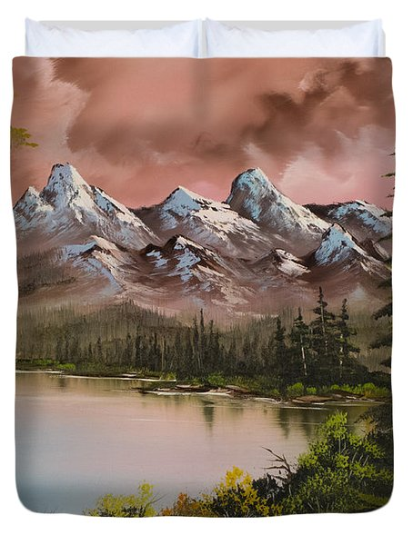Autumn Storm Duvet Cover by C Steele