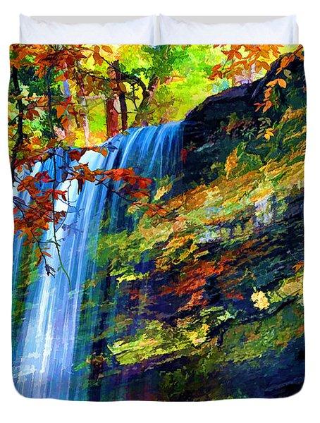 Autumns Calm Duvet Cover by Darren Fisher