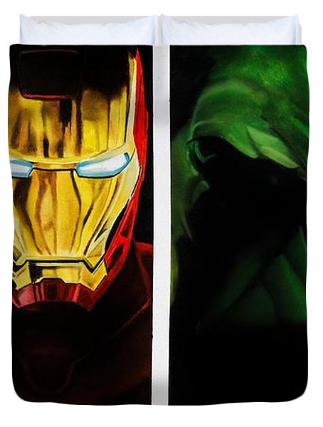 Avengers Duvet Cover by Brian Broadway