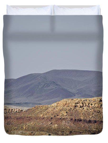 Az Landscape - Near Grand Canyon Duvet Cover by David Gordon