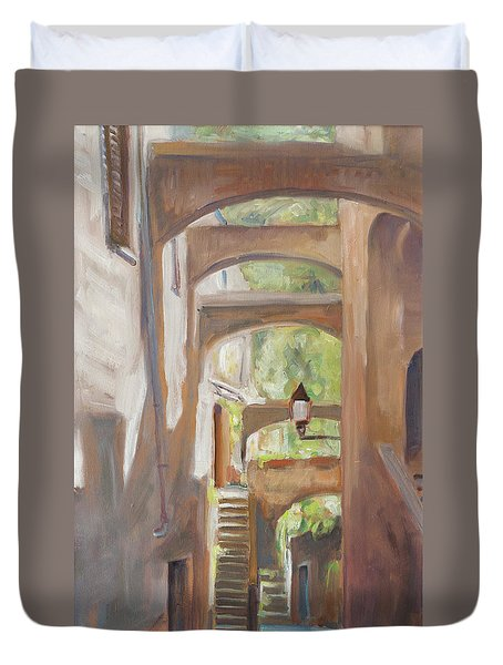 Back Alley Duvet Cover by Marco Busoni