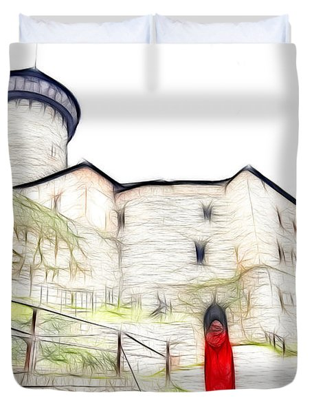 Back To Home Duvet Cover by Michal Boubin