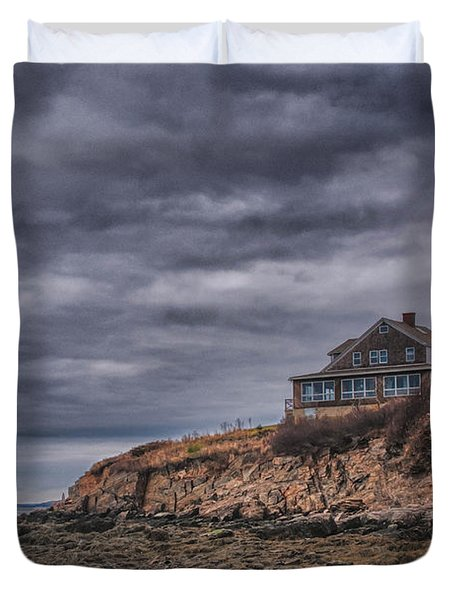Bailey's Island 14342c Duvet Cover by Guy Whiteley