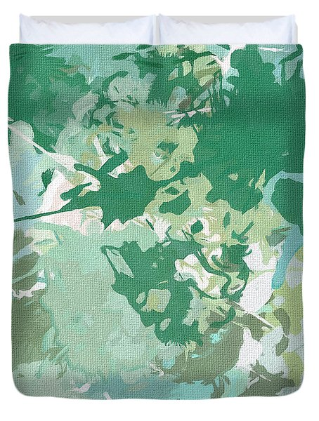 Balance Duvet Cover by Lourry Legarde