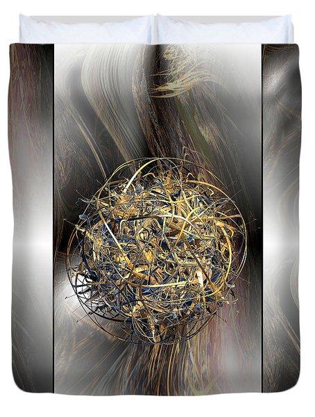 Balance Duvet Cover by Michael Durst