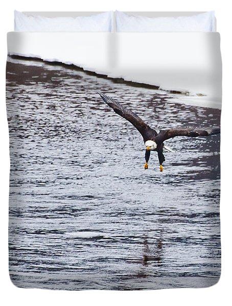 Bald Eagle Duvet Cover by Steven Ralser