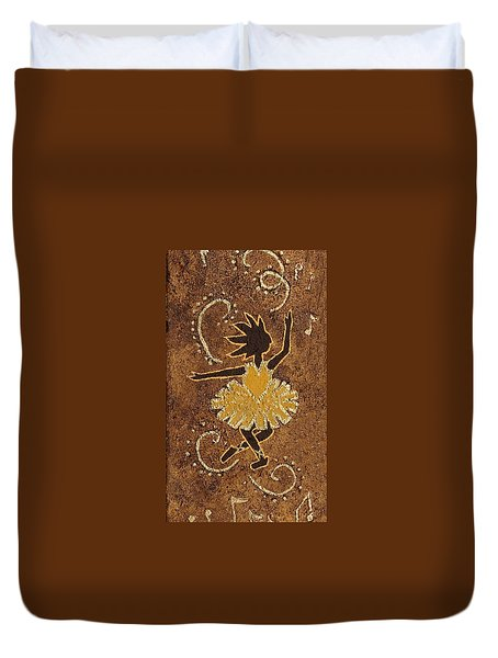 Ballerina Duvet Cover by Katherine Young-Beck