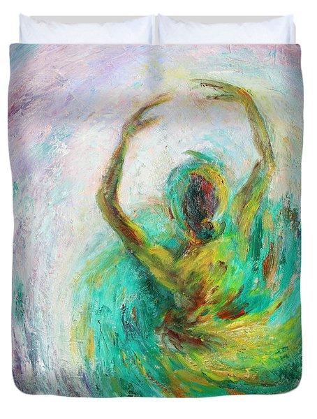 Ballerina Duvet Cover by Xueling Zou