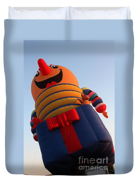 Balloon-jack-7660 Duvet Cover by Gary Gingrich Galleries