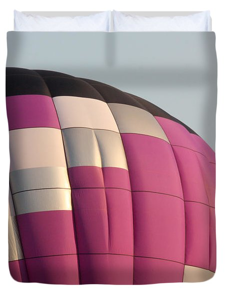 Balloon-purple-7457 Duvet Cover by Gary Gingrich Galleries