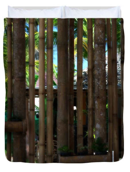 Bamboo View Duvet Cover by Nomad Art And  Design