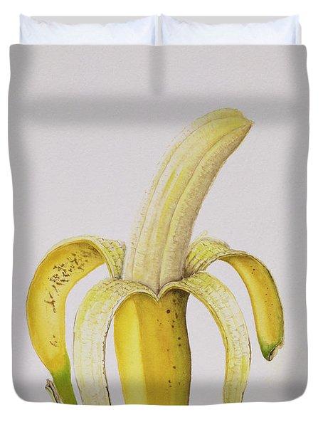 Banana Duvet Cover by Alison Cooper