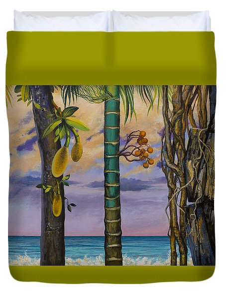 Banana Country Duvet Cover by Vrindavan Das