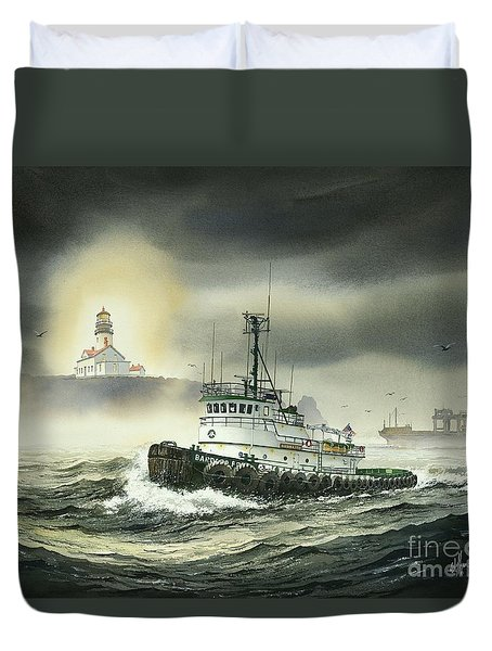 Barbara Foss Duvet Cover by James Williamson