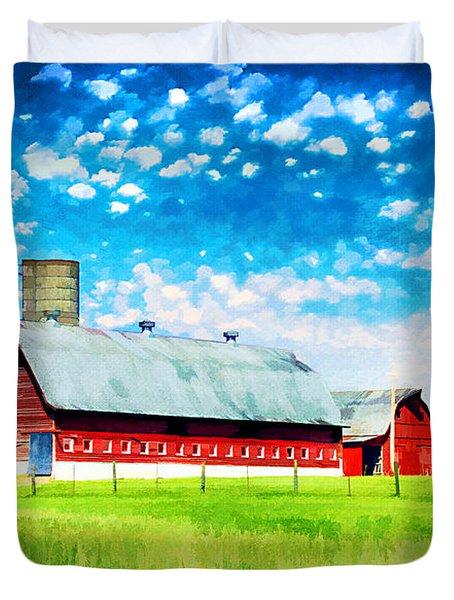 Bardstown Kentucky Duvet Cover by Darren Fisher